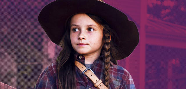 Cailey Fleming alsJudith Grimes in The Walking Dead