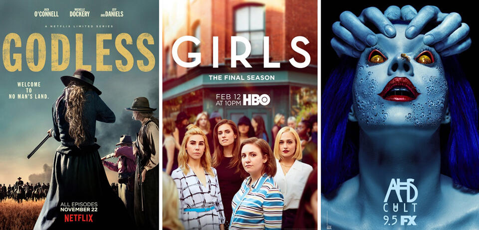 Godless, Girls, American Horror Story