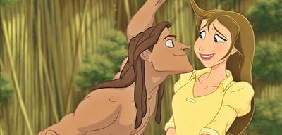 Nicht ganz fehlerfrei: Tarzan