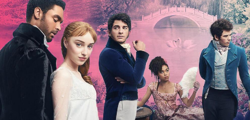Die Serie Bridgerton: Lady Whistledown jetzt bei Netflix