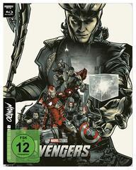 Loki dominiert das stylische Mondo-Steelbook für Avengers 1