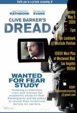 Clive Barkers Dread - Die Angst in dir Poster