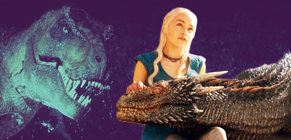 Game of Thrones: Die Drachen wurden Dinos inspiriert