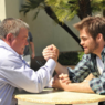 The Captains mit Chris Pine und William Shatner - Bild