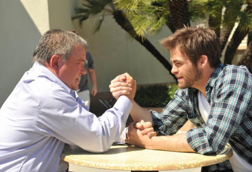 The Captains mit Chris Pine und William Shatner