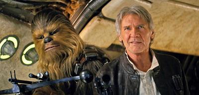 Harrison Ford als Han Solo in Star Wars: Episode VII - Das Erwachen der Macht
