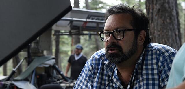 James Mangold am Set von Logan - The Wolverine
