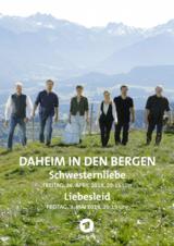 Daheim in den Bergen - Schwesternliebe - Poster