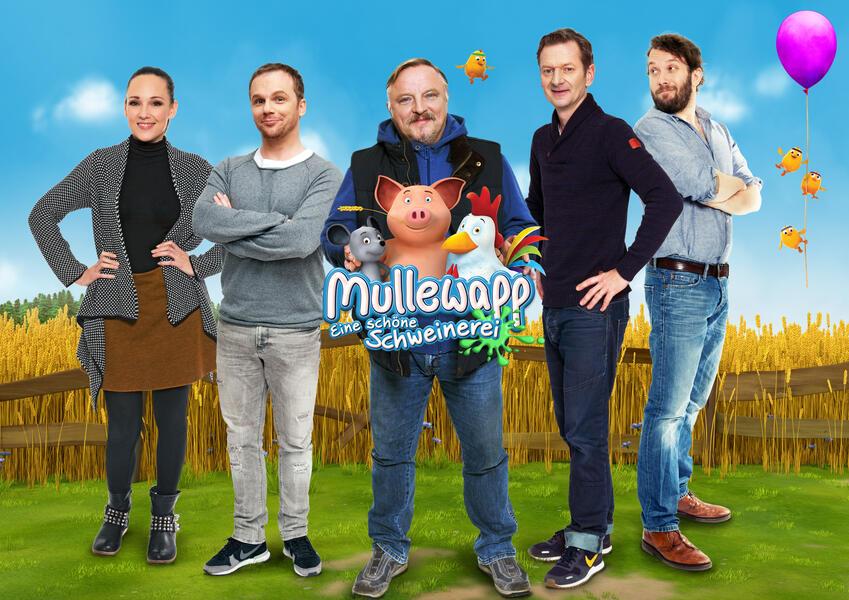 Mullewapp - Eine schöne Schweinerei mit Christian Ulmen, Axel Prahl, Michael Kessler, Carolin Kebekus und Ralf Schmitz