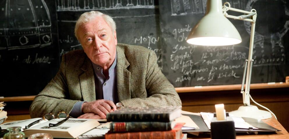 Michael Caine in Christopher Nolans Inception