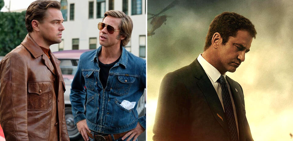 Once Upon a Time ... in Hollywood/Angel Has Fallen