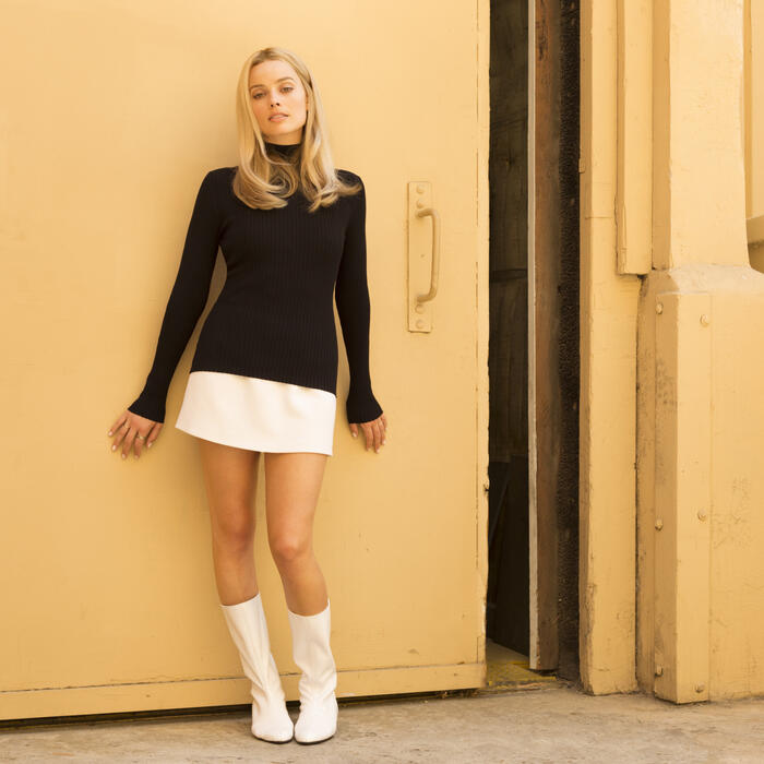 Once Upon a Time... in Hollywood mit Margot Robbie