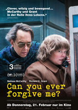 Can You Ever Forgive Me? - Poster