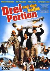 Drei und eine halbe Portion - Poster