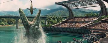 Der Mosasaurier in Jurassic World