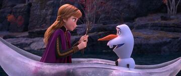 Anna und Olaf voll im Mittelpunkt