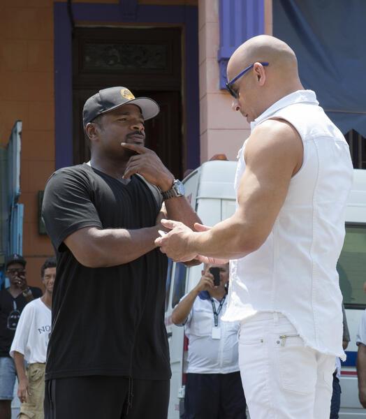 Fast & Furious 8 mit Vin Diesel und F. Gary Gray