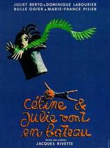 Céline und Julie fahren Boot - Poster