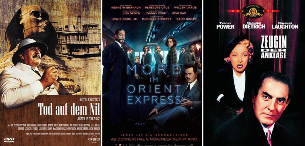 Welche Agatha-Christie-Verfilmung schafft es auf Platz 1?