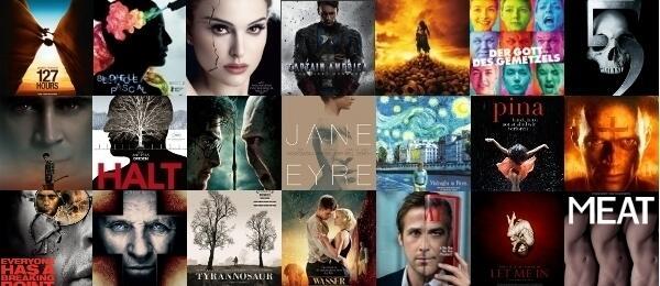 Die schönsten Filmposter 2011