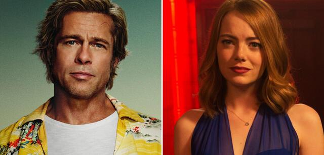 Brad Pitt und Emma Stone