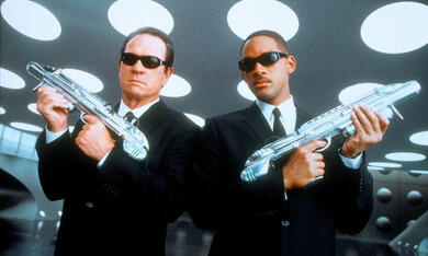 Men In Black 2 mit Will Smith und Tommy Lee Jones - Bild 1