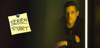 Rami Malek in der 2. Staffel Mr. Robot