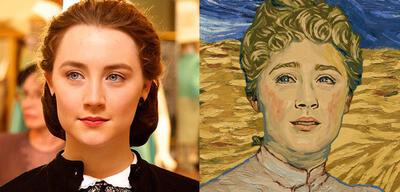 Saoirse Ronan in Brooklyn und Loving Vincent