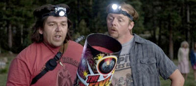 Simon Pegg und Nick Frost in Paul