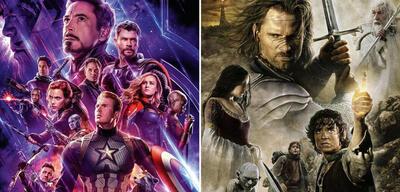 Avengers: Endgame und Der Herr der Ringe