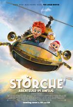 Störche - Abenteuer im Anflug Poster
