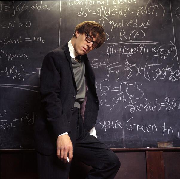 Benedict Cumberbatch in Hawking