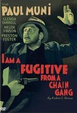 Ich bin ein entflohener Kettensträfling - Poster