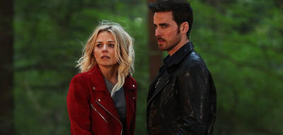 Emma und Hook in Once Upon a Time