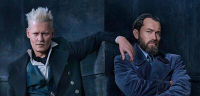 Phantastische Tierwesen 2: Johnny Depp als Grindelwald und Jude Law Dumbledore