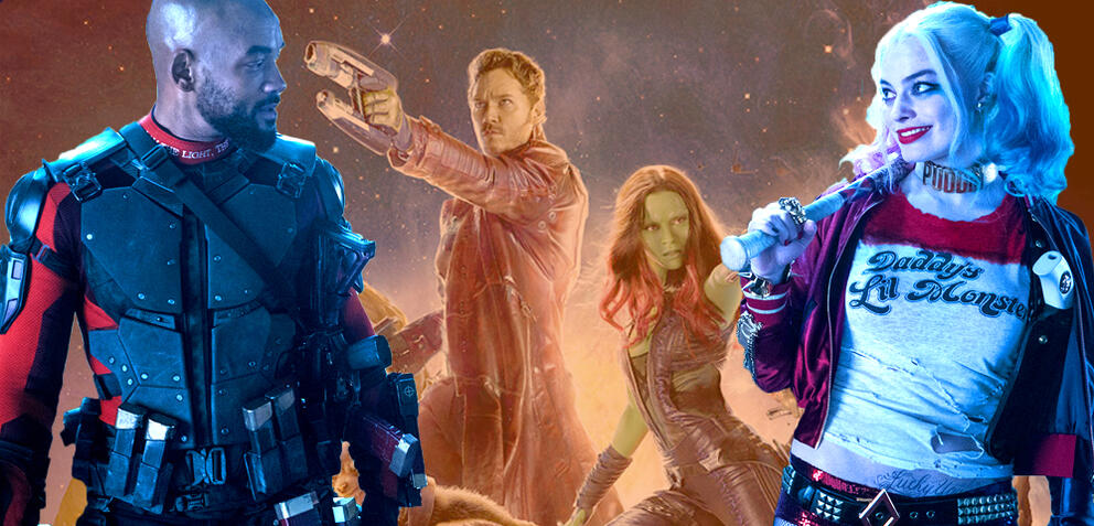 Guardians of the Galaxy/Suicide Squad