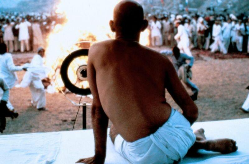 Gandhi mit Ben Kingsley