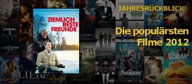 Populärste Filme 2012
