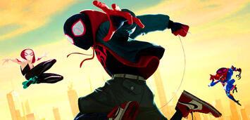 Bild zu:  Spider-Man, Spider-Gwen und Sp//dr
