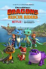 Dragons: Die jungen Drachenretter - Poster