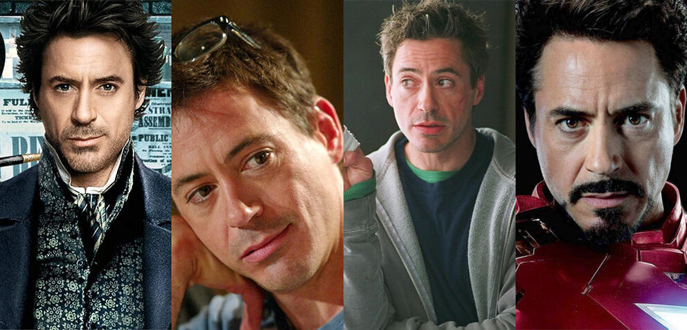 Robert Downey Jr. in all seinen Facetten