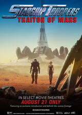 Starship Troopers: Traitor of Mars - Poster