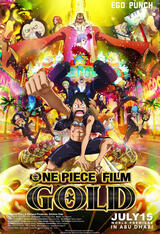 One Piece Film: Gold - Poster