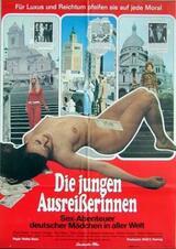 Die jungen Ausreißerinnen - Sex-Abenteuer deutscher Mädchen in aller Welt - Poster