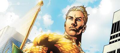 Freut sich über soviel Aufmerksamkeit: Aquaman