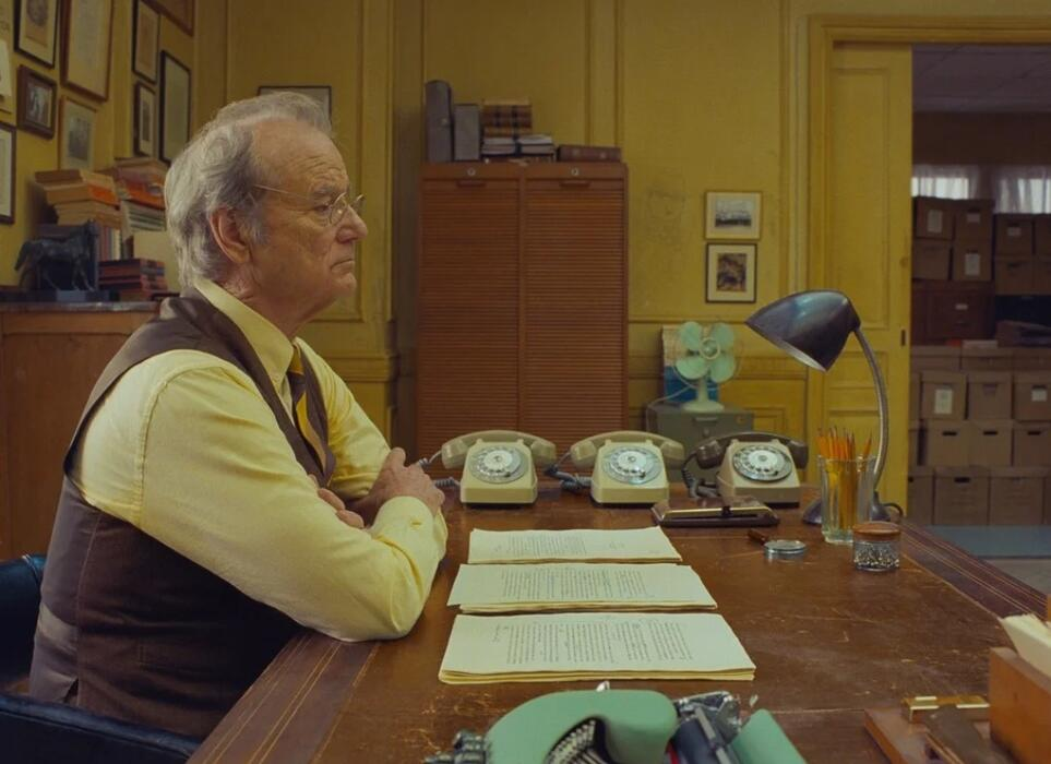 The French Dispatch mit Bill Murray