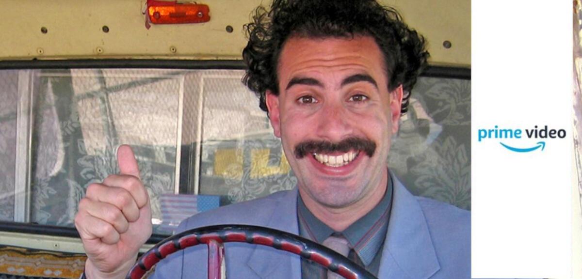 Amazon Prime bringt Borat 2 bald: Sacha Baron Cohen ...