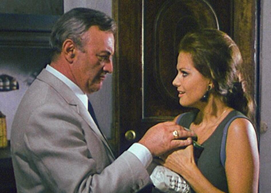 Der Tag der Eule mit Claudia Cardinale und Lee J. Cobb