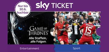 Bild zu:  Sky bietet ein neues Angebot für Sky Entertainment Ticket.