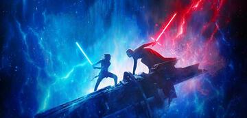 Rey vs. Kylo Ren